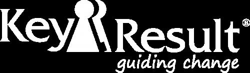 Logo Key Result (v2021 neg + tagline)